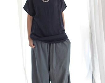 Simple  Summer...Linen/cotton blouse.....size M