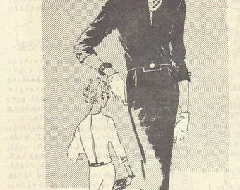 Spadea 1351 1960s Harvey Berin Misses Two Piece Dress Pattern Slim Skirt Overblouse Womens Vintage Sewing Pattern Size 14 Bust 36 FF