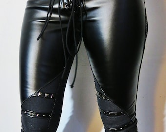 Hell Couture Resurrection Studded Pants