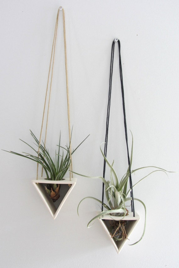 Triangle Air Plant Hanger - Made to order