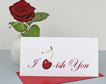 Card, 'I Cherish You'.