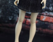 Minifee Skirt Denim Jean BJD Clothes MNF Ball Jointed Doll Clothes 1/4 Dollfie Slim MSD Abjd