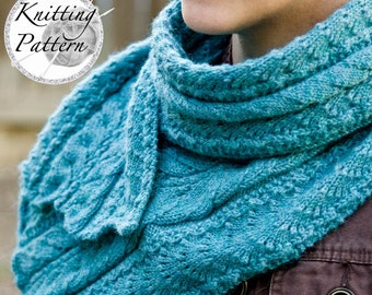 Knitting Pattern for Women's Scarf - Fancy Mae