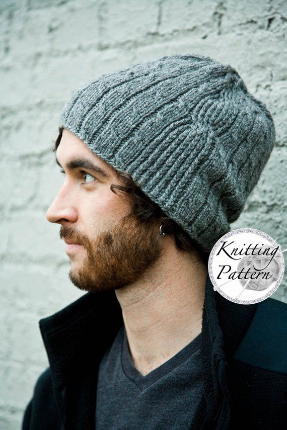 Knitting Pattern for Mens Hat Bartek