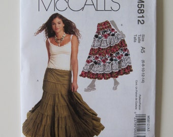 McCall's M5812 Tiered Skirt Pattern
