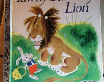 The Tawny Scrawny Lion Little Golden Children's Book