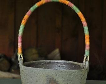 Rainbow Garden Basket