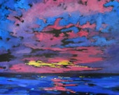 Signed  Print - Sunset by artist Christi Dreese