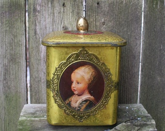 Beautiful Vintage, Collectible Dutch Tin