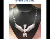 Pegasus Necklace Bead Pattern Chart INSTANT DOWNLOAD