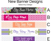 Etsy Shop Banners - Etsy Banners - Etsy Branding Graphics - Etsy Store Graphics - New Etsy Shop Banner Designs Selection 5