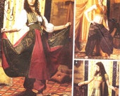 belly dance costume tribal belly dance Ren fair SCA peasant gypsy Simplicity 5359 size 14 16 18 20 bust 36 38 40 42 Andrea Schewe curvy girl