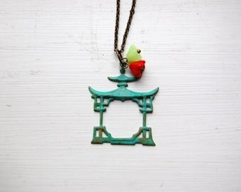 The Pagoda - A Long Necklace