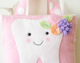 Darling Hanging Tooth Fairy Pillow with Pocket