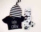 bringing home baby | baby boy take home outfit | shark print organic leggings | hipster baby | baby boy outfit | custom name bodysuit | gift