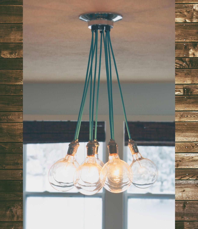 Cluster Pendant Light 9 Pendant Modern Ceiling Lamp With