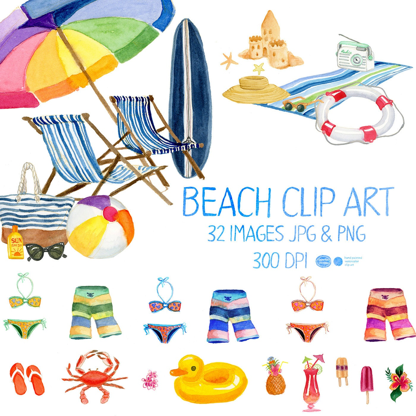 free beach vacation clipart - photo #46