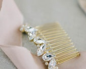 Crystal and Pearl Bridal Comb