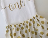 One First Birthday Baby Girl Outfit; Babies first birthday; first birthday dress