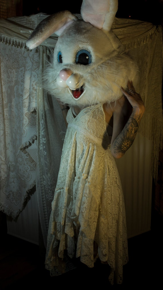 Cream Lace Tea Party Dress