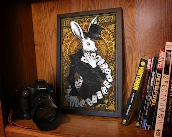The Magician -  Rabbit Tarot Print