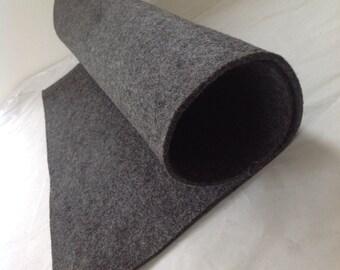WOOL FELT - Dark Grey (818) - 3mm thick