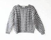 SALE // vintage stormy seas sweater