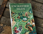 1961 ENCHANTED ISLES Vintage Sketch Notebook