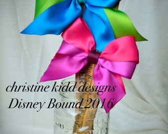 Ready to Ship Disney Bound Couture Drizella and Anastasia inspired statement bows, a CKD exclusive limited edition Summer 2016