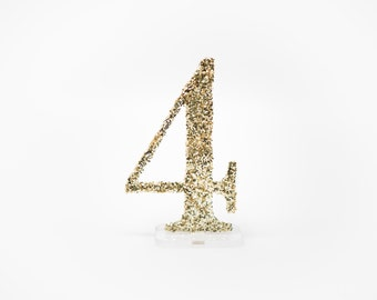 Table Numbers for Wedding Party or Event, Gold or Silver Wedding Decor for Wedding Table Numbers, Wedding Signs (Item - ACR100)