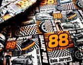 NASCAR Race Car Fabric Car No. 88 Dale Jarrett 7 Yards Yardage GREAT Gift Ideas for Boys