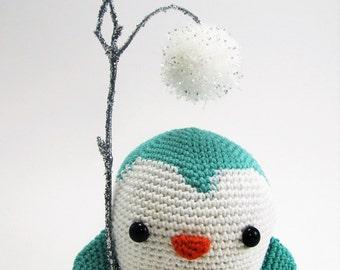 Stuffed Penguin Plush Toy - Crochet Stuffed Animal - Crochet Penguin - Penguin Plush Toy - Plush Stuffed Animal - Cuddle Toy - Penguin Toy
