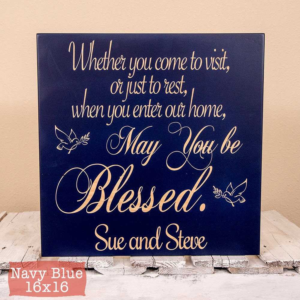 Welcome sign new home sign new home housewarming gift for New home sign