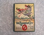 The Emerald City of Oz vintage book by L. Frank Baum; illus. by John R Neill