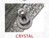 Soutache kit & instructions for the CRYSTAL pendant