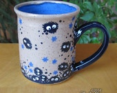 Soot Sprite Mug - stoneware coffee cup