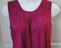 3X -- Post Surgery Clothing - Breast Cancer, Shoulder, Heart / Adaptive Clothing / Hospice / Rehab / Breastfeeding / Stroke - Style Sara