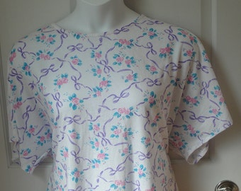XL - Post Surgery Shirt - Shoulder, Breast Cancer, Mastectomy / Special Needs Clothing / Adaptive Clothing / Breastfeeding  -Style Tracie