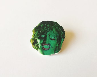 Old Gregg Pin / Brooch The Mighty Boosh Accessories
