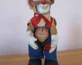 1950's Vintage Steiff Clownie, Germany