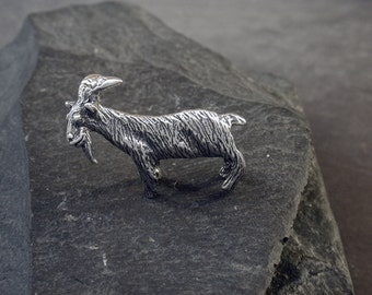 Sterling Silver Billy Goat Sculpture