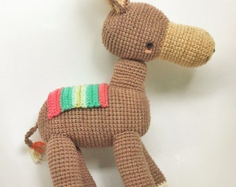 Luciano, the donkey-Crochet pattern