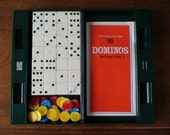 1978 Epoch Book Game Series Dominos Travel Set, Case Included