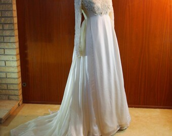 Vintage Walter Cahill Wedding Gown