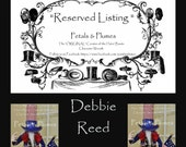 "RESERVED Installment Listing for ""DEBBIE REED"" 2nd Installment for ""Uncle Sam Stand Centerpiece"" 2017 Delivery"