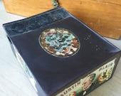 Antique Metal Austn Blair Cigar Box