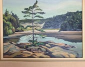 Kenneth Gordon Oil Painting. Ontario . Algonquin Park. Morning Fantasy 1978 No.0070 hs