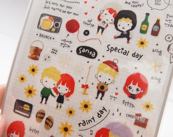 Suatelier all for you Sticker (1 sheet)
