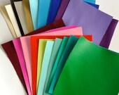 Faux Leather/Leatherette Sheet 25cm x 30cm - 25 colours