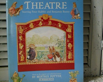 The Peter Rabbit Theatre By Beatrix Potter Printed By F. Warne & Co. Build Your Theatre have Adventures Of Peter Rabbit And Benjamin Bunny